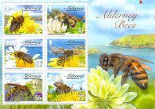 Alderney Bees min sheet 2009 mnh