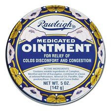 Rawleigh Medicated Ointment. 5oz can. New, Fresh Stock. Famous Original Formula