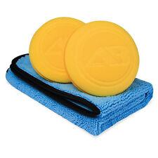 Autobright Blue Fox Car Plush Microfibre Cleaning Towel 2x Car Wax Sealants apps