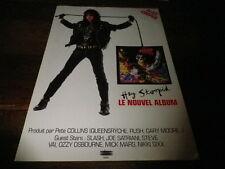 ALICE COOPER - Publicité de magazine / Advert !!! HEY STOOPID !!!