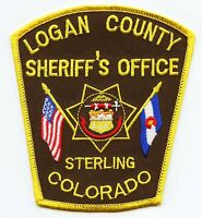 CLEAR CREEK COUNTY COLORADO CO subdued gray SHERIFF POLICE PATCH