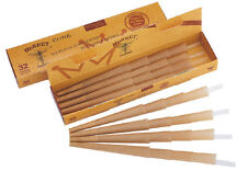 96 X 1 1/4 Hornet Rolling Paper Pre-Rolled Cones Classic Cones 3 Packs