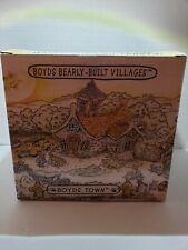 Boyds Bears Depot Bearsylvania Station Bearly Villages 2000 BoydsTown Nib 19018