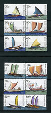 Cook Islands 2013 MNH Sailing Ships Pacific 12v Set Boats Vaka Tipaerua Stamps