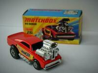 MATCHBOX LESNEY SUPERFAST BIG BANGER No.26 VNM IN VNM ORIGINAL I1 BOX 1972-76