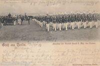 Abnahme der Parade durch seine Majestät den Kaiser AK 1899 Militaria 1605015