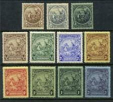 Barbados 1921, 1925 Series Watermark Script CA Stamps. Values to 2/- MM.
