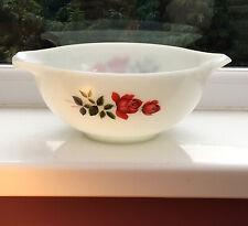 More details for vintage pyrex bowl june rose. pouring handles retro 1960s