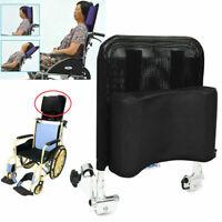 Wheelchair Headrest Backrest Neck Support Cushion Pad Adjustable Breathable