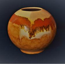 Carstens Uffrecht Keramik Bauhaus Kugelvase Dekor 18