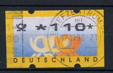 Allemagne 1999 étiquette de machine utilisé 110pf #A 28754