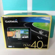 New open Box Garmin Nuvi 40LM 4.3-inch Portable GPS Navigator Lifetime Maps