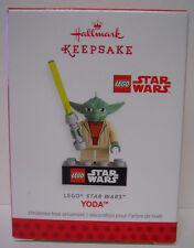 2013 Hallmark Keepsake Ornament LEGO Star Wars Yoda-QXI2245