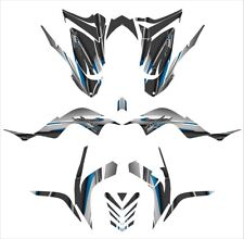 Raptor 700 graphics kit for 2006 - 2012 Thick 24 mil racing vinyl #5600 Blue