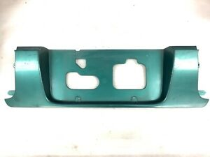 92-93 Accord 4Dr Rear Trunk Lid Garnish License Plate Frame Molding Panel Trim