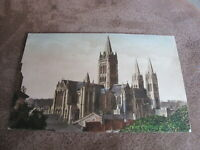 Early Frith Cornwall postcard - Truro Cathedral