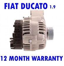 FIAT DUCATO (230) 1.9 PLATFORM/CHASSIS 1998 1999 2000 2001 2002 ALTERNATOR