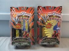 Bandai Power Rangers Jungle Fury Red and Blue Ranger Battler Set MOC Disney