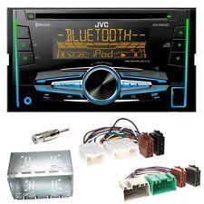 JVC KW-R920BT Bluetooth CD USB AUX MP3 Einbauset für Volvo S40 V40 850