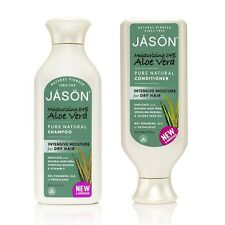 JASON ORGANIC ALOE VERA SHAMPOO & CONDITIONER 480ml-No Parabens / Phthalates
