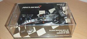 Minichamps Pedro De La Rosa GP Bahrain 2005 1/43