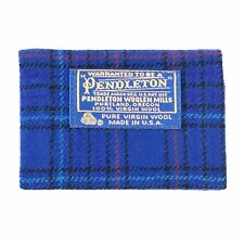 Vintage Pendleton Wool Plaid Address Phone Number Book Cover Made In the USA