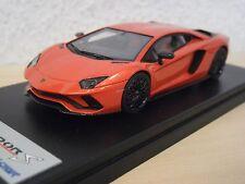 Looksmart-Lamborghini Aventador S-orange-Met./Arancia Argos-ls468c - 1:43