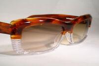 Gorgeous New JEAN LAFONT Unisex Gradient Sunglasses Clear & Transparent Tortoise