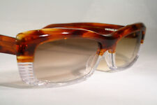 Gorgeous New JEAN LAFONT Unisex Gradient Sunglasses Clear & Transparent Tortoise