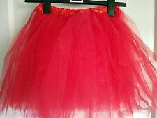 """13260)Girls/Ladies ?red (labelled pink) tutu Blue Banana BNIP 15"""" L  24"""" to 35""""W"""