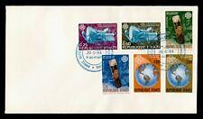 DR WHO 1984 HAITI FDC WORLD COMMUNICATIONS YEAR C243237