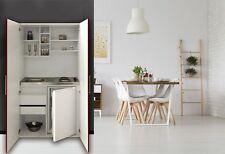 Cucina Armadio Mini Cucinino Singolo Blocco Bianco Rosso Respekta