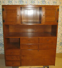 "Ethan Allen 40"" Drop Down Desk Top Heirloom Maple Custom Room Plan CRP 467"