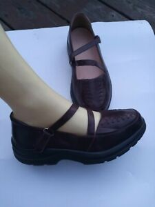 Dr Comfort Betsy Burgundy Leather Diabetic Therapeutic Comfort Shoes Womens 6W