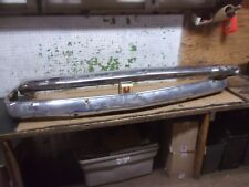 1956 MERCURY FRONT BUMPER FACE BARS TOP BOTTOM OEM 56 F
