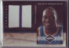 Quiny Pondexter (Hornets) 2010/11 Limited Huge Jersey-Card #/99
