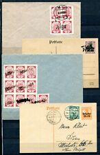 Lettland   Postkarten + Briefe