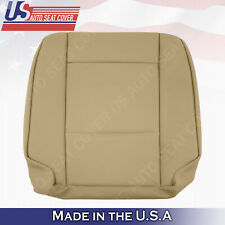 DRIVER BOTTOM LEATHER SEAT COVER SAND BEIGE FOR 2002 2003 2004 2005 2006 BMW X5