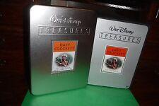Walt Disney TREASURES Tin Davy Crockett Complete TV Series DVD R1