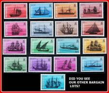 BERMUDA 1986 SHIPS SC#482-98 MNH FACE$23.00 (if you don't understand FACE-ask!)