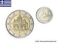 2 Euros Commémorative Grèce 2016 Monastère d'Arkadi UNC