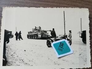 Orig.Foto Tiger Panzer im Winter 1943