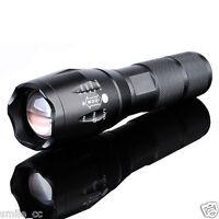 10000Lumen LED 18650/AAA Flashlight Zoomable Torch Focus Flashlight Lamp HD