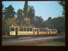 POSTCARD TRAM - BERLIN TRAILER TRAM CAR NO 1420 & MOTOR CAR NO 5256