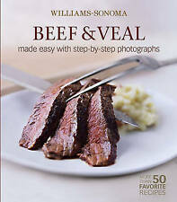USED (GD) Beef & Veal  (Williams-Sonoma Mastering) by Denis Kelly