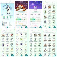 pokemon account Go Level 36 | 30 Shiny | 76 Legendary | 5 IV100 (RARE)