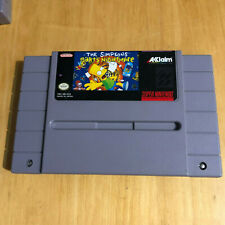 The Simpsons Barts Nightmare Super Nintendo / SNES Cart Only - NTSC - US Version