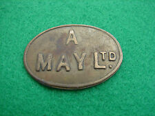 Market Token A May 1 Shilling Oval Shaped Global Shipping