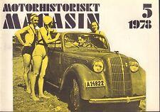 Motorhistoriskt Magasin Swedish Car Magazine 5 1978 Mercury 1946 032717nonDBE