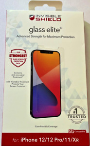 """ZAGG Invisibleshield Glass Elite+ for iPhone 12 / iPhone 12 Pro / 11 (6.1"""")"""